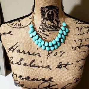 Jewelry - Light Blue Beaded Necklace!